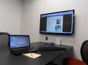 Working on my Irish Research Presentation
