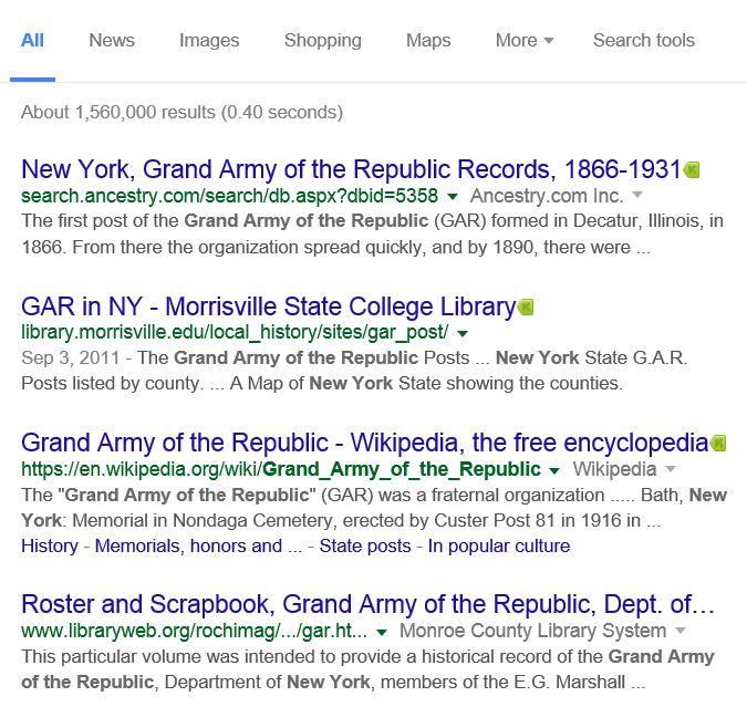GAR - Google Search - 1
