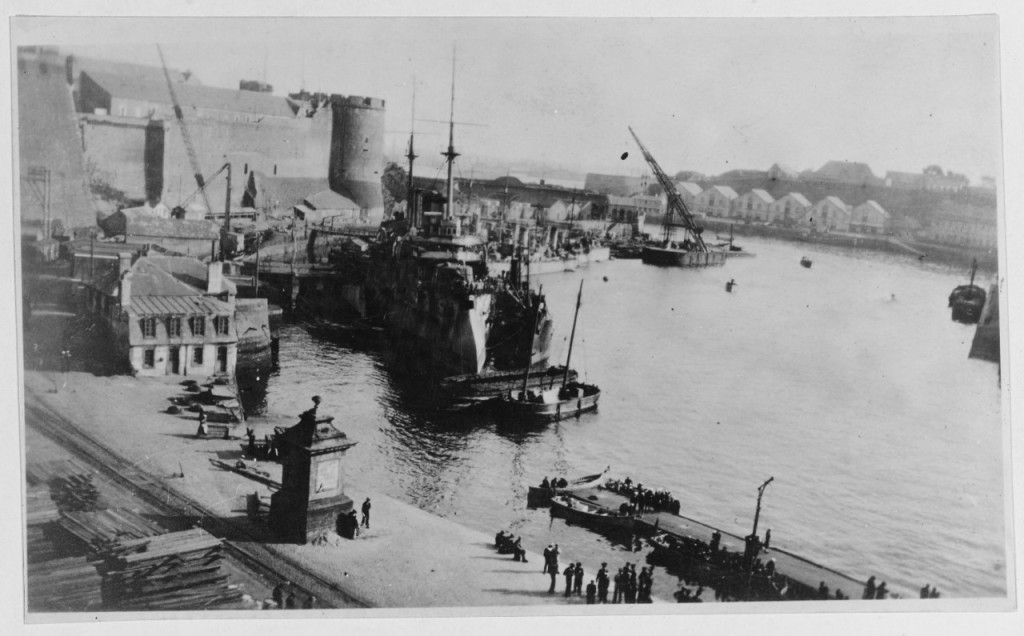 Anchor aweigh - 4 - Landing at Brest 1919