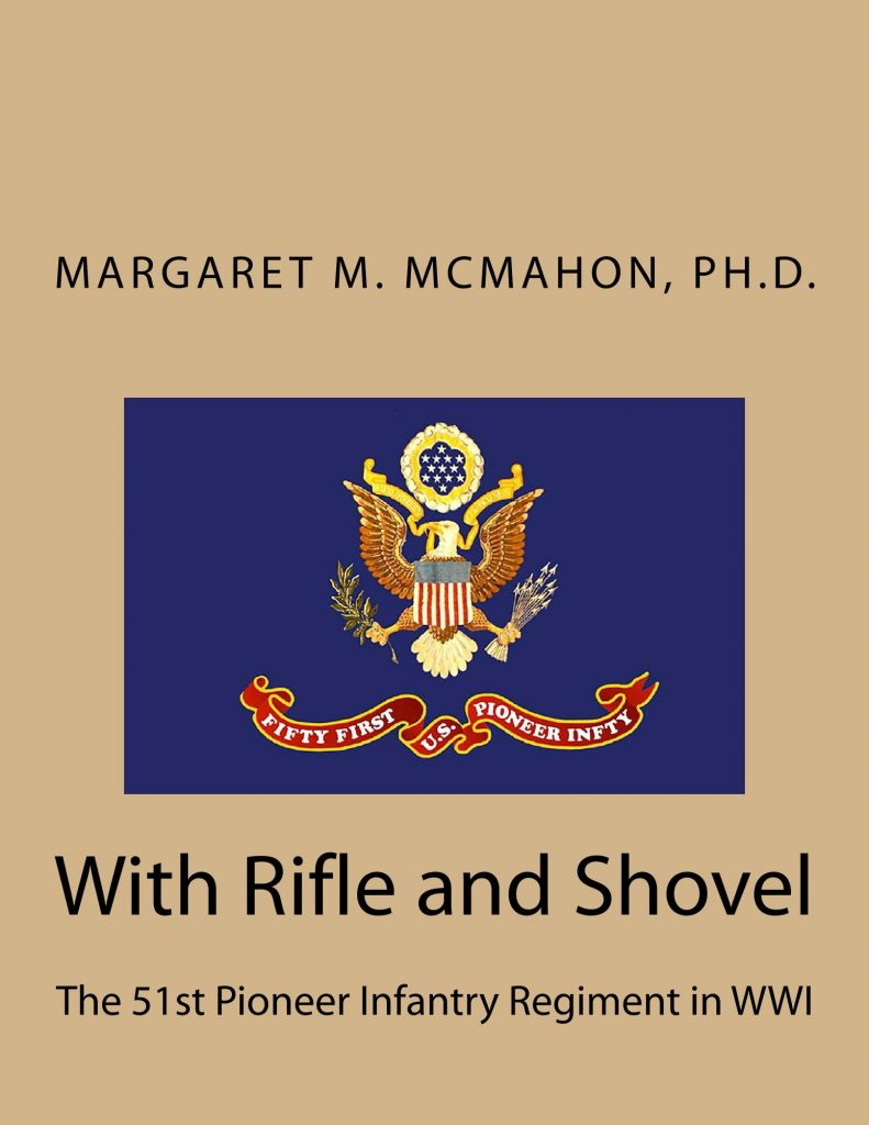 "Cover of ""With Rifle and Shovel"""