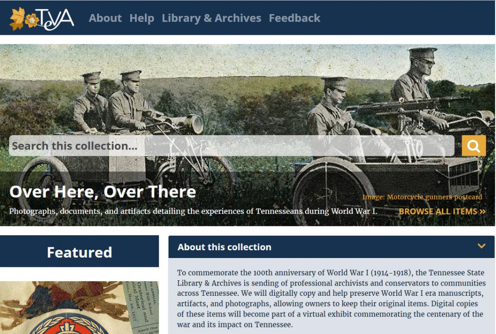 WWI | aweekofgenealogy com