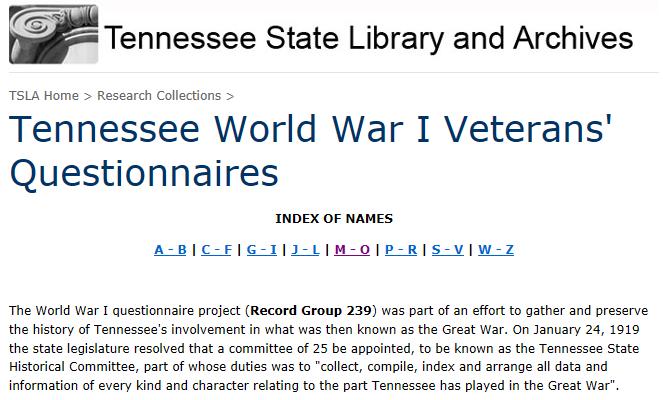 Tennessee TVSL