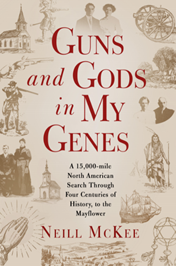"""Cover of """"Guns and Gods in My Genes"""""""